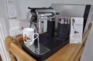 Nespresso coffee with locally roasted Batemans Bay coffee