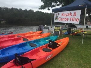 Canoe and Kayak Hire at Nelligen
